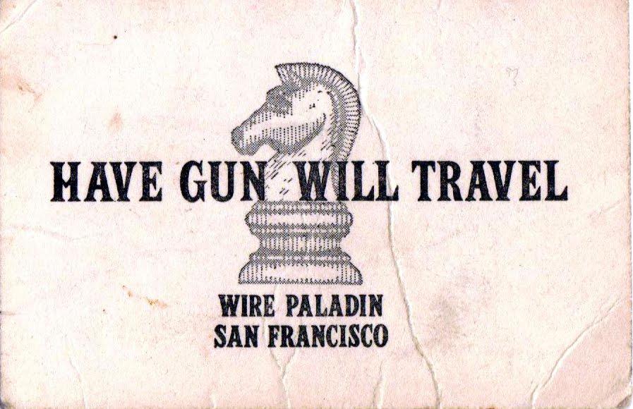 Have Gun Will Travel | Paleo Porch