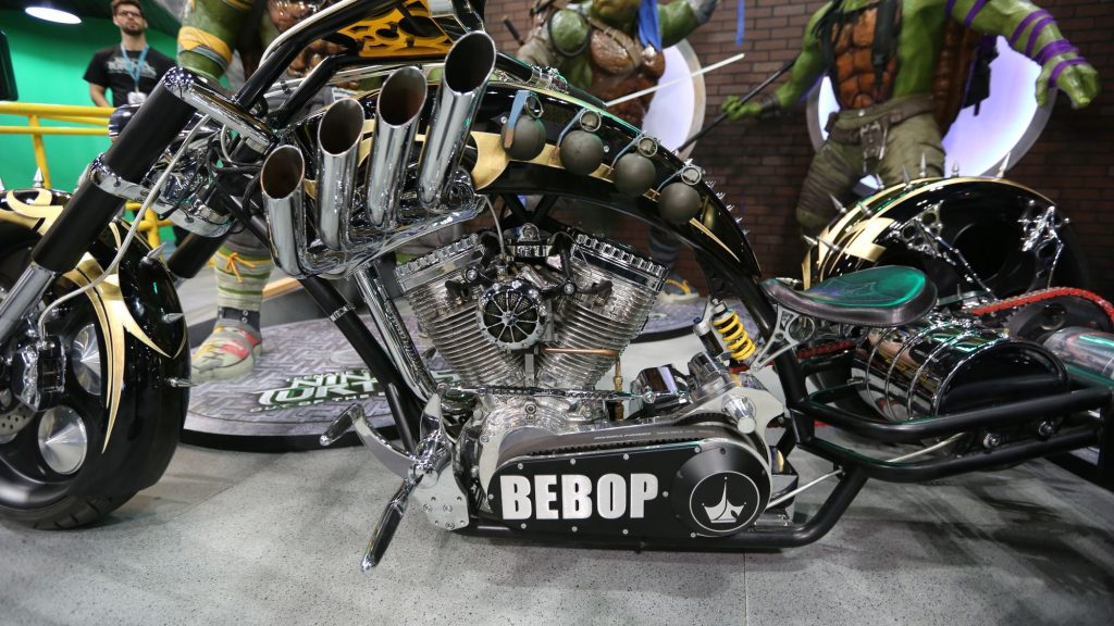 Bebop Trike For more great photos see http://pulse.therpf.com/bebop-and-rocksteady-posters-new-spot-for-teenage-mutant-ninja-turtles-out-of-the-shadows-features-krang