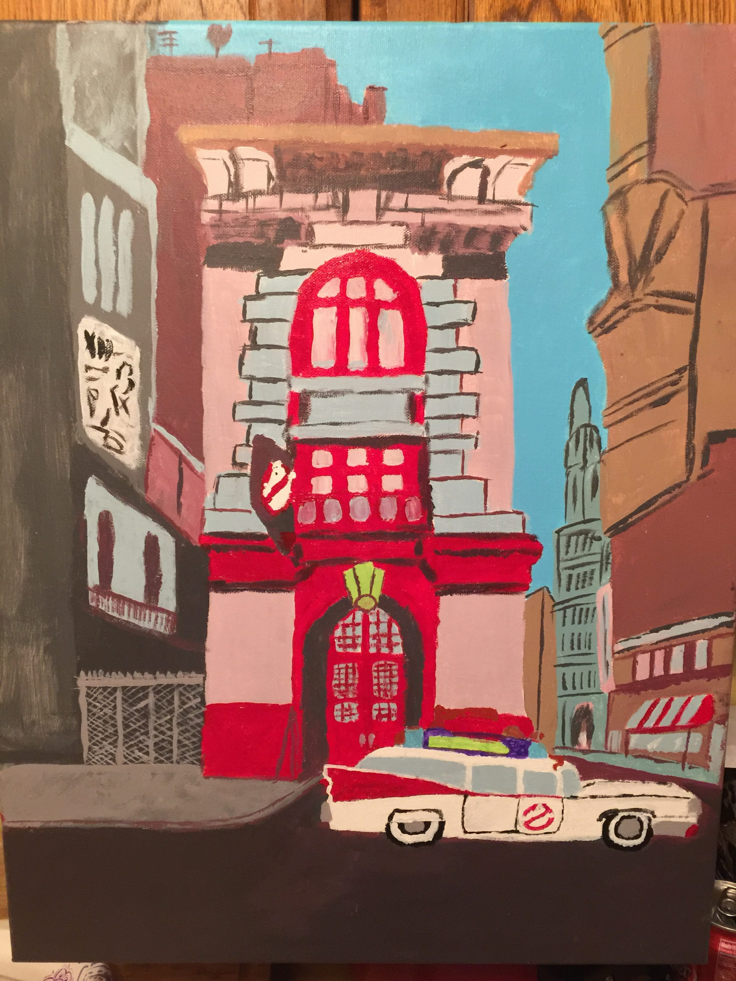 Firehouse painting