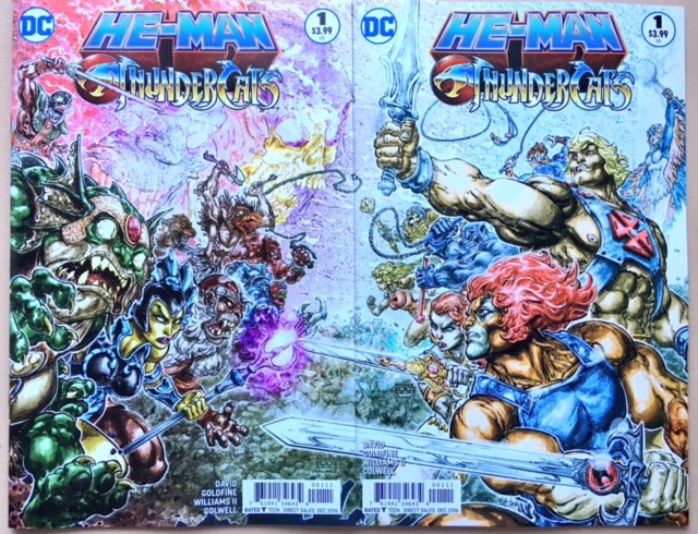He Man Thundercats covers