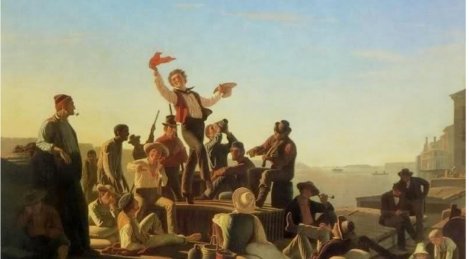 The Road to Comps part 15: Art and the American West in the 19th Century: General Background