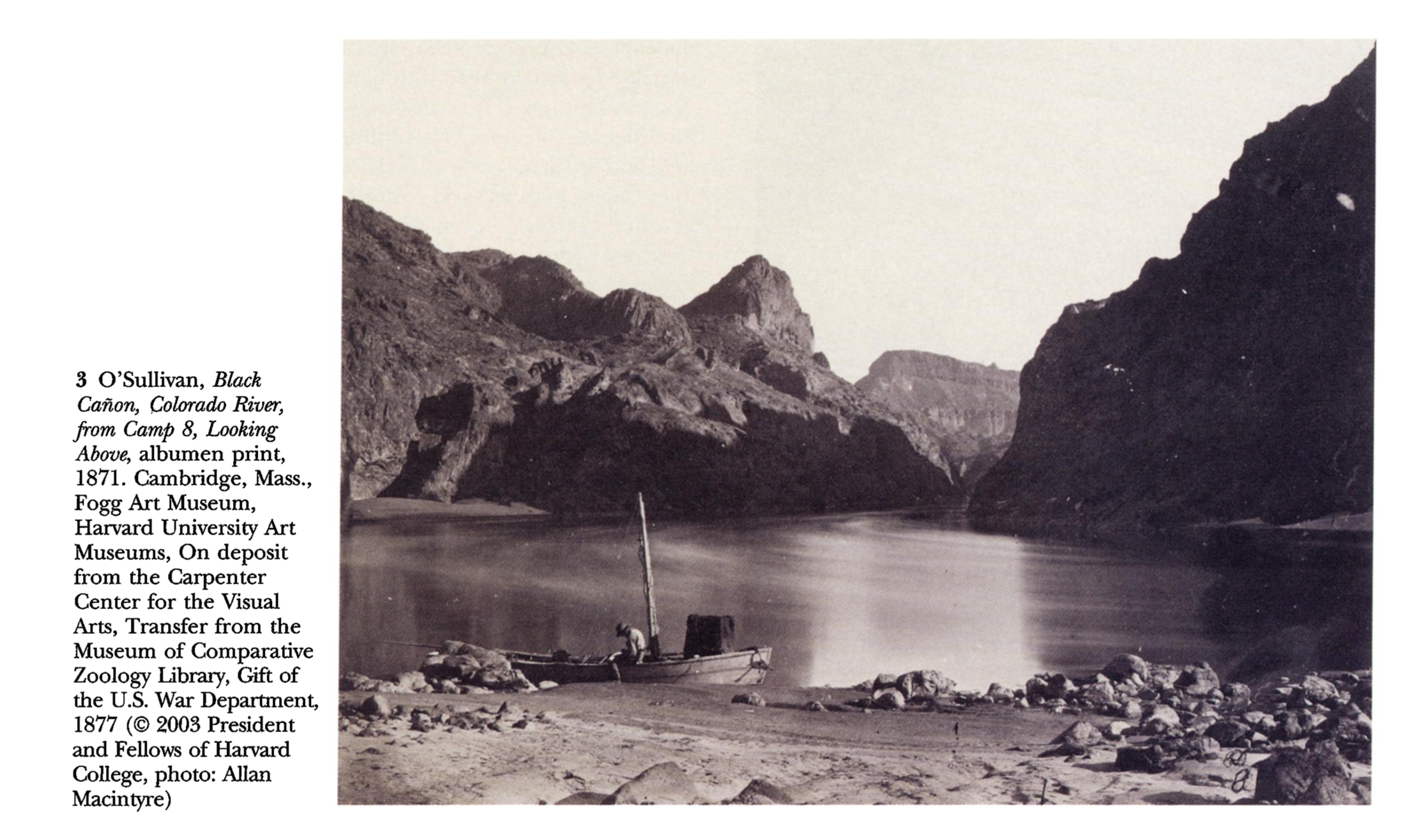 "From Robin E. Kelsey, ""Viewing the Archive: Timothy O'Sullivan's Photographs for the Wheeler Survey, 1871-74."" Art Bulletin 65 (Dec 2003), pp. 702-723"