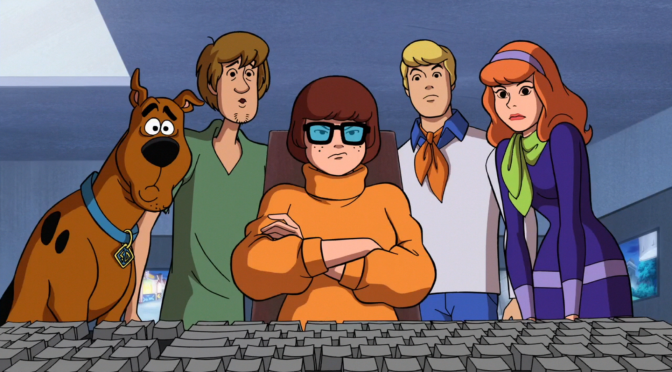 Scooby Doo & the Missing Paleontology Murals