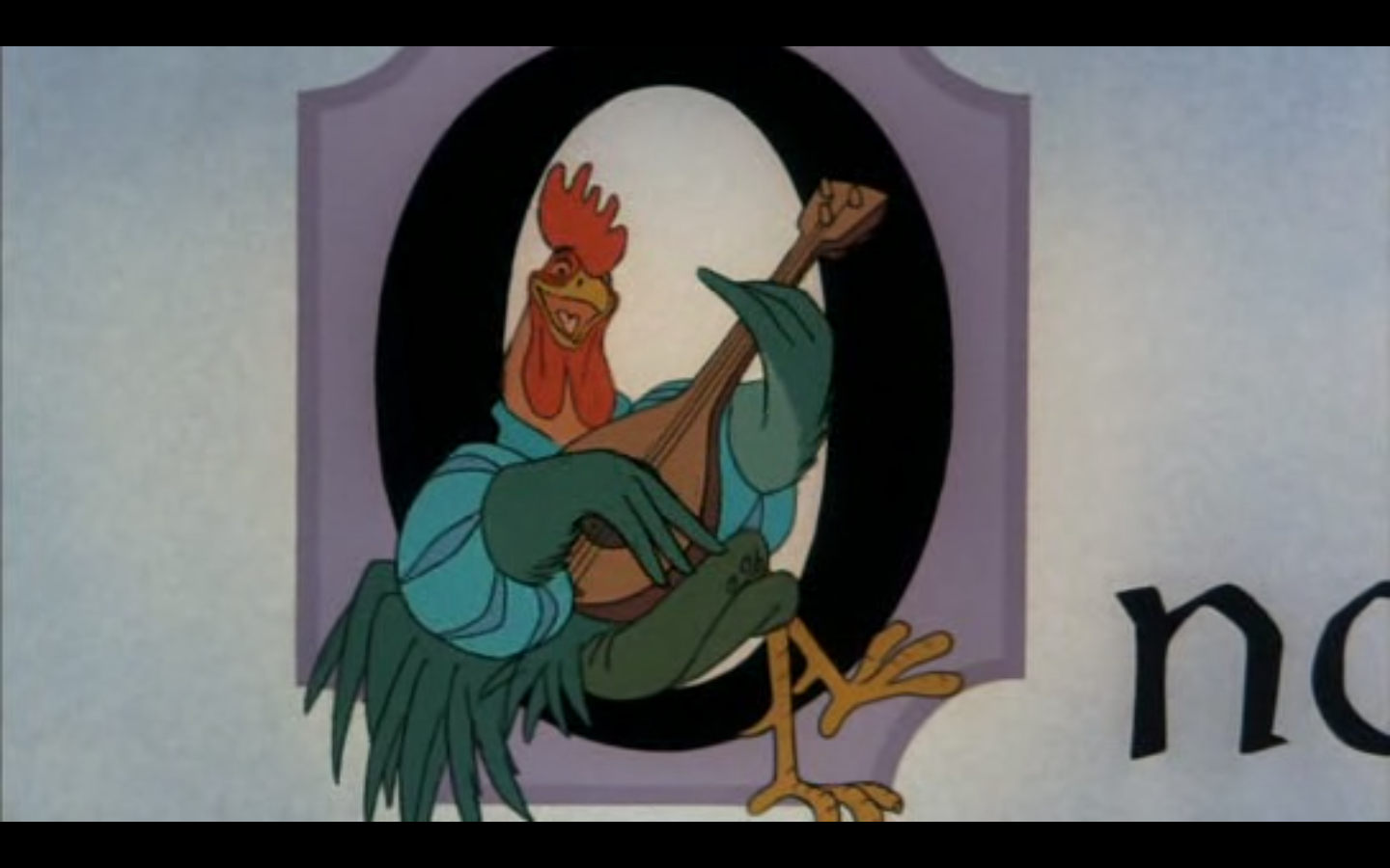 How I narrate science history is more or less shaped by an animated rooster voiced by Roger Miller.