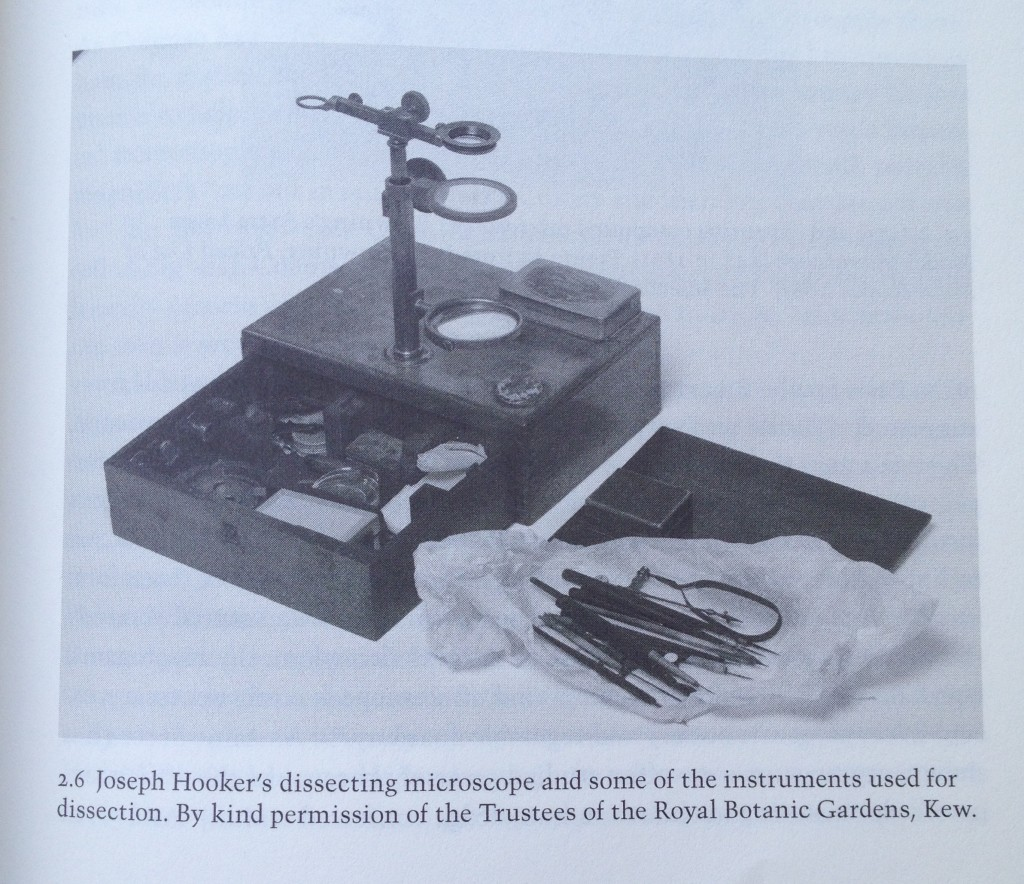 A dissecting microscope was one of the sought after tools for the field collectors but not easily obtained