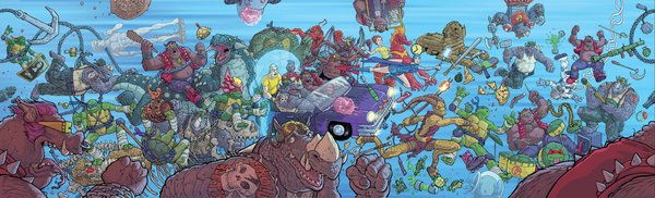New Comics Old Dinosaurs