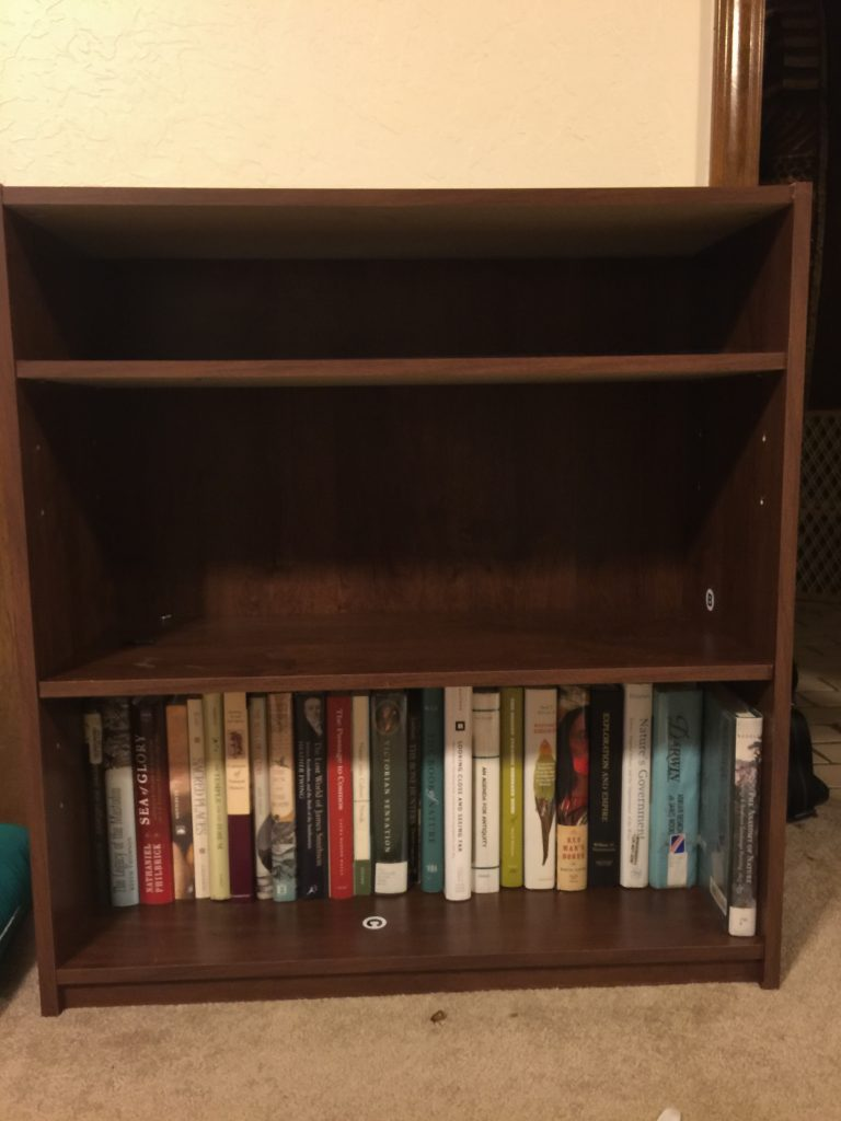 The books that I already owned