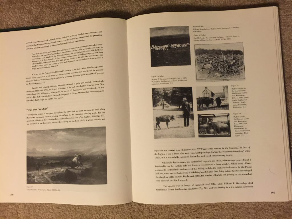 Hi Guys! It's Hornaday, Smithsonian, and the National Zoo in a book about Albert Bierstadt